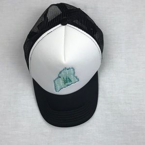 Accessories - State of Maine trucker snap back hat